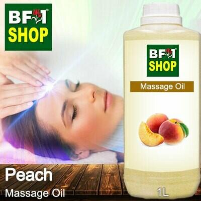 Palm Massage Oil - Peach - 1000ml