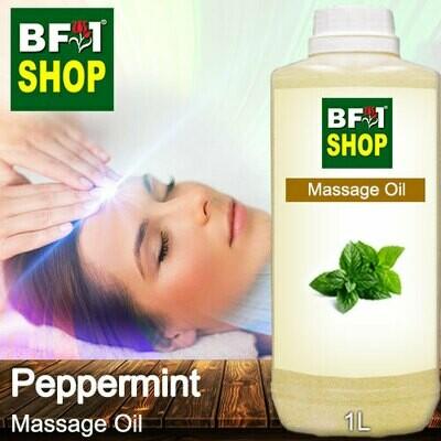 Palm Massage Oil - Peppermint - 1000ml