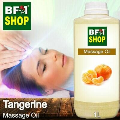Palm Massage Oil - Tangerine - 1000ml