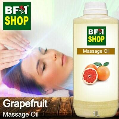 Palm Massage Oil - Grapefruit - 1000ml