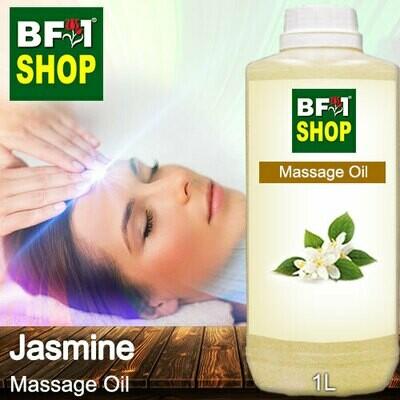 Palm Massage Oil - Jasmine - 1000ml