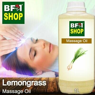 Palm Massage Oil - Lemongrass - 1000ml
