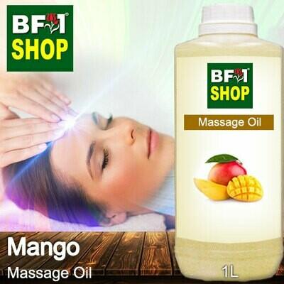 Palm Massage Oil - Mango - 1000ml