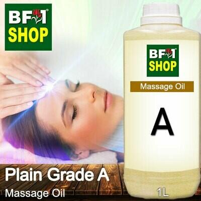 Palm Massage Oil - Plain Grade A - 1000ml