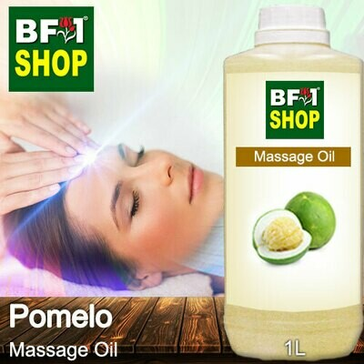 Palm Massage Oil - Pomelo - 1000ml
