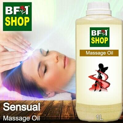Palm Massage Oil - Sensual - 1000ml