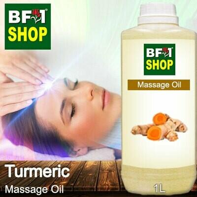 Palm Massage Oil - Turmeric - 1000ml