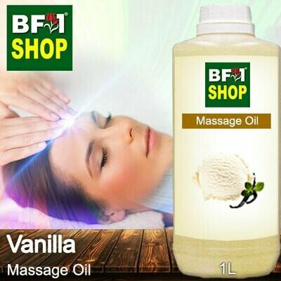 Palm Massage Oil - Vanilla - 1000ml