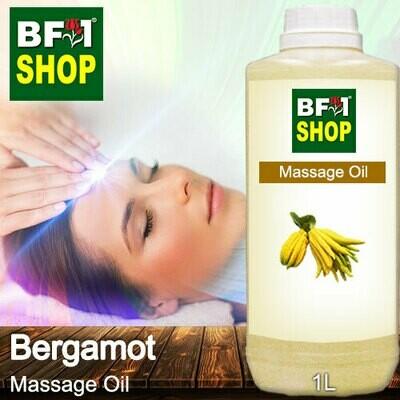 Palm Massage Oil - Bergamot - 1000ml