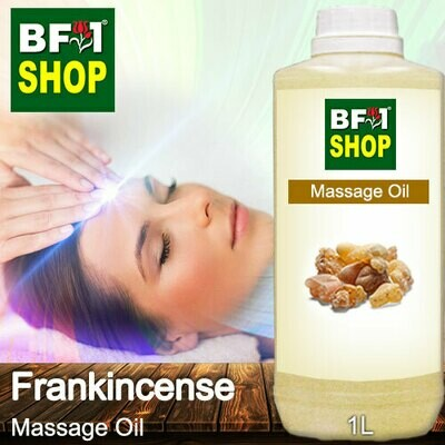 Palm Massage Oil - Frankincense - 1000ml
