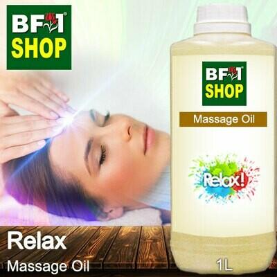 Palm Massage Oil - Relax - 1000ml
