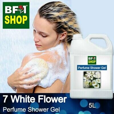 Perfume Shower Gel (PSG) - 7 White Flowers - 5L
