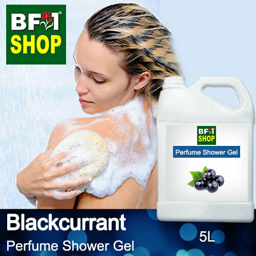 Perfume Shower Gel (PSG) - Blackcurrant - 5L
