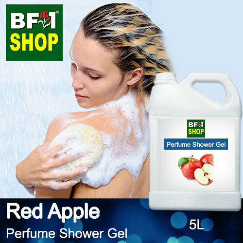 Perfume Shower Gel (PSG) - Apple Red Apple - 5L