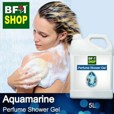 Perfume Shower Gel (PSG) - Aquamarine - 5L