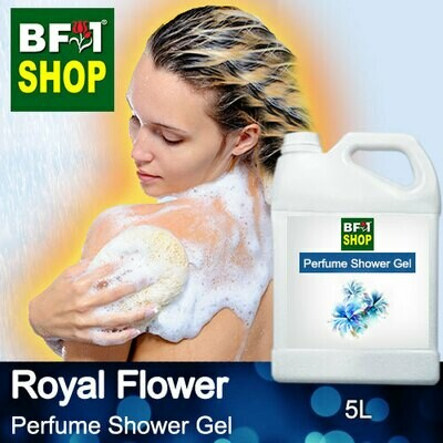 Perfume Shower Gel (PSG) - Royal Flower Aura - 5L