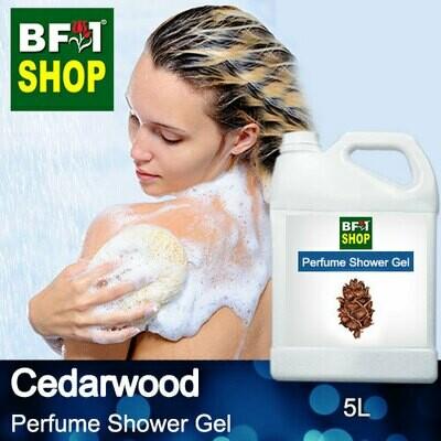 Perfume Shower Gel (PSG) - Cedarwood - 5L