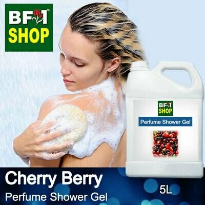 Perfume Shower Gel (PSG) - Cherry Berry - 5L