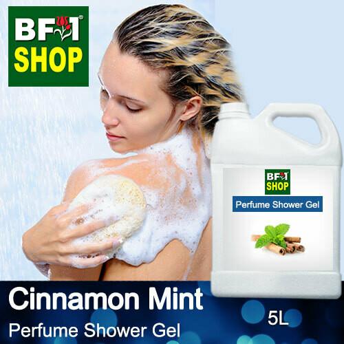 Perfume Shower Gel (PSG) - Cinnamon Mint - 5L