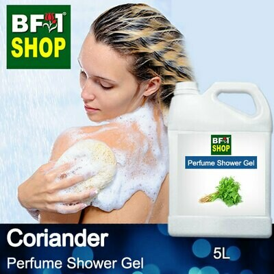 Perfume Shower Gel (PSG) - Coriander - 5L