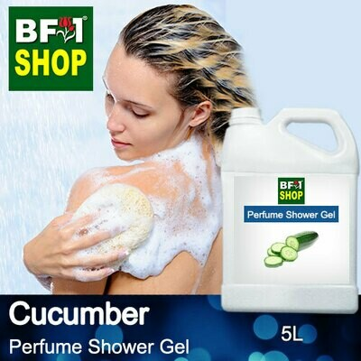 Perfume Shower Gel (PSG) - Cucumber - 5L