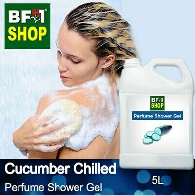 Perfume Shower Gel (PSG) - Cucumber Chilled - 5L