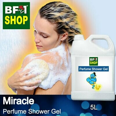 Perfume Shower Gel (PSG) - Miracle Aura - 5L