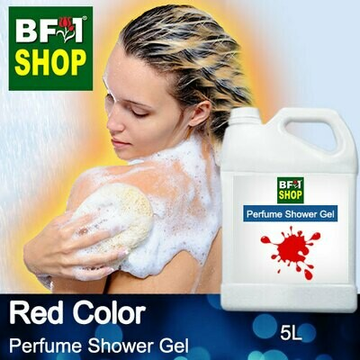 Perfume Shower Gel (PSG) - Red Color Aura - 5L