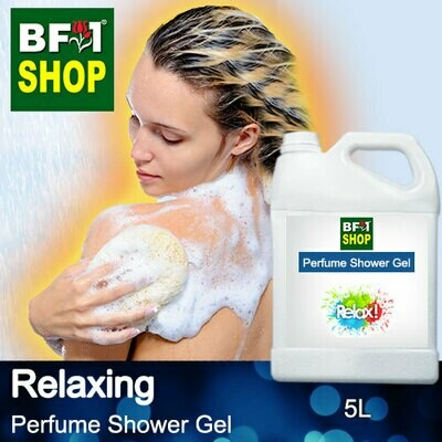 Perfume Shower Gel (PSG) - Relaxing Aura - 5L