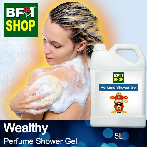 Perfume Shower Gel (PSG) - Wealthy Aura - 5L