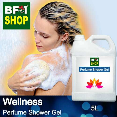 Perfume Shower Gel (PSG) - Wellness Aura - 5L
