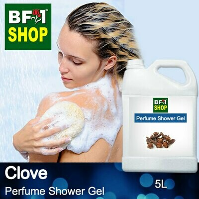 Perfume Shower Gel (PSG) - Clove - 5L