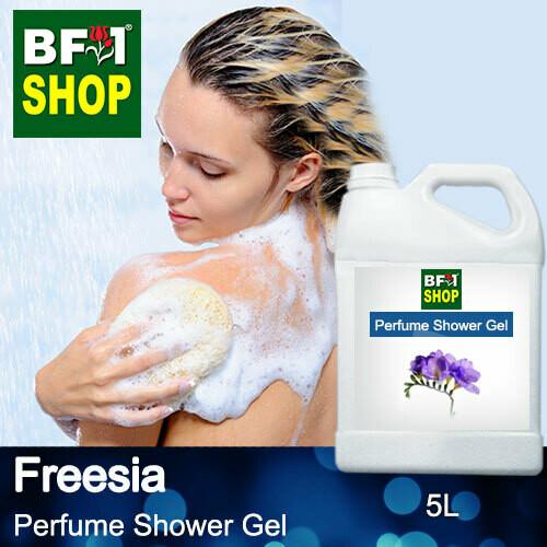 Perfume Shower Gel (PSG) - Freesia - 5L