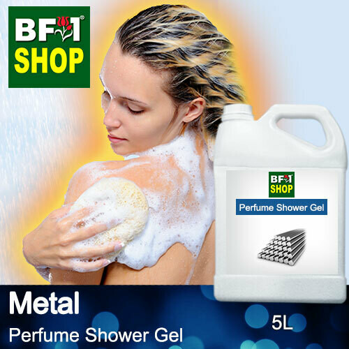 Perfume Shower Gel (PSG) - Metal Aura - 5L