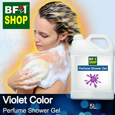 Perfume Shower Gel (PSG) - Violet Color Aura - 5L