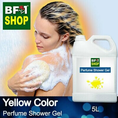 Perfume Shower Gel (PSG) - Yellow Color Aura - 5L