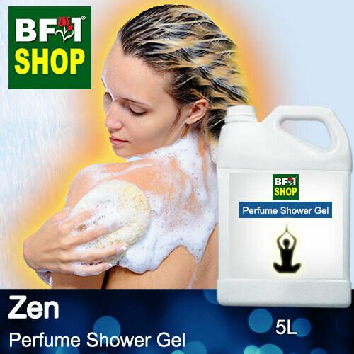 Perfume Shower Gel (PSG) - Zen Aura - 5L