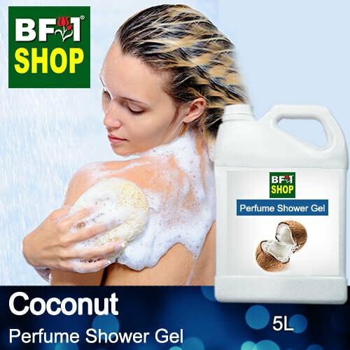 Perfume Shower Gel (PSG) - Coconut - 5L