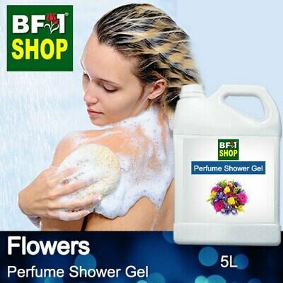 Perfume Shower Gel (PSG) - Flowers - 5L