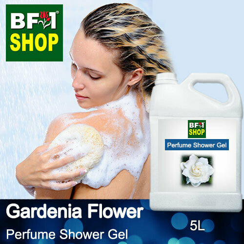 Perfume Shower Gel (PSG) - Gardenia Flower - 5L