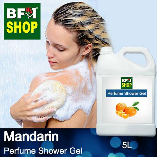 Perfume Shower Gel (PSG) - Mandarin - 5L