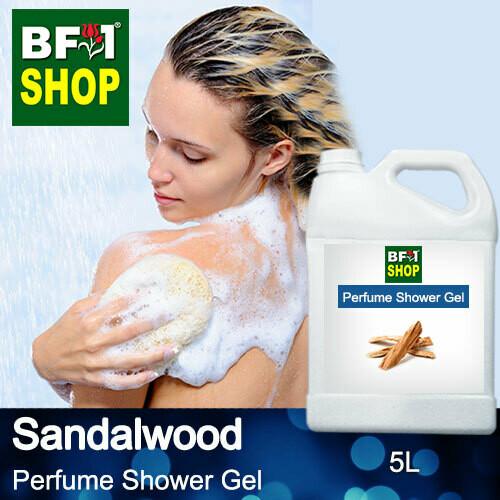 Perfume Shower Gel (PSG) - Sandalwood - 5L