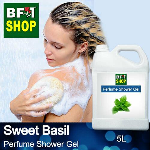 Perfume Shower Gel (PSG) - Sweet Basil - 5L