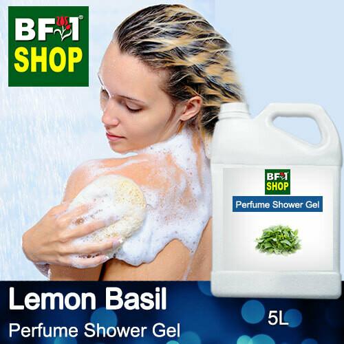 Perfume Shower Gel (PSG) - Lemon Basil - 5L