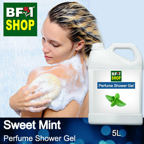 Perfume Shower Gel (PSG) - Sweet Mint - 5L