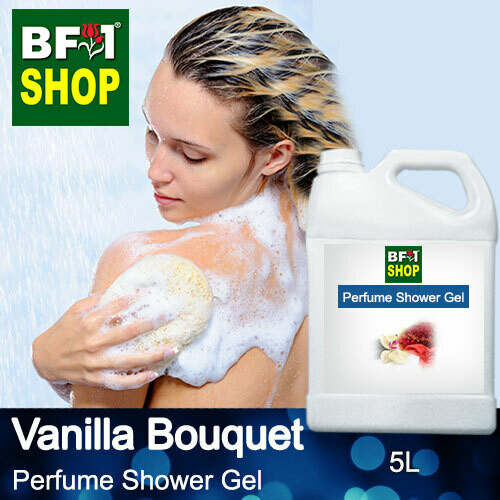 Perfume Shower Gel (PSG) - Vanilla Bouquet - 5L