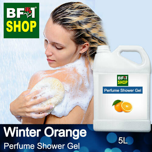 Perfume Shower Gel (PSG) - Winter Orange - 5L
