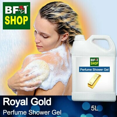 Perfume Shower Gel (PSG) - Royal Gold Aura - 5L