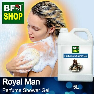Perfume Shower Gel (PSG) - Royal Man Aura - 5L
