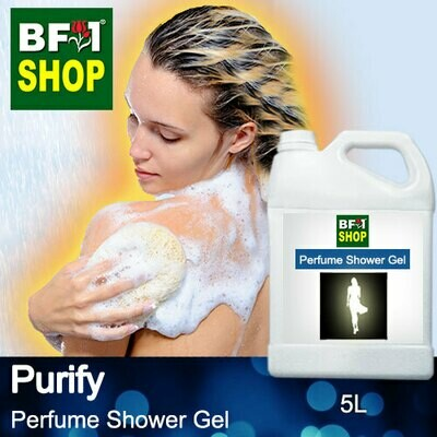 Perfume Shower Gel (PSG) - Purify Aura - 5L